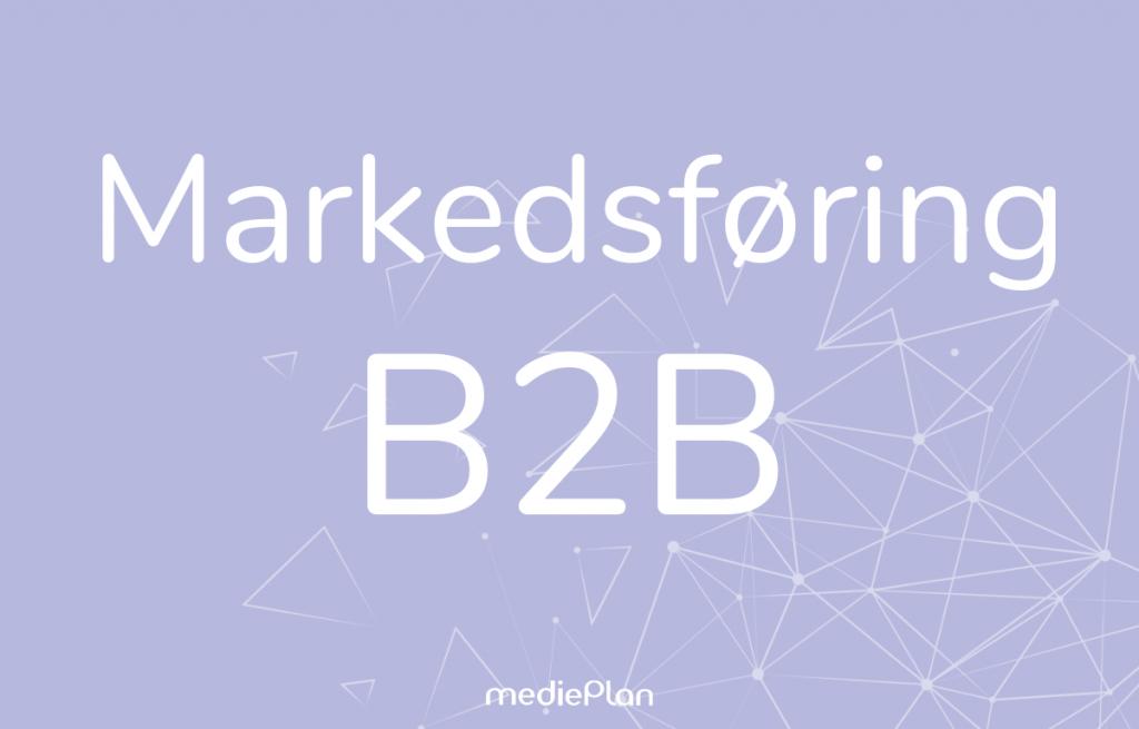 marketing b2b Blog mediePlan