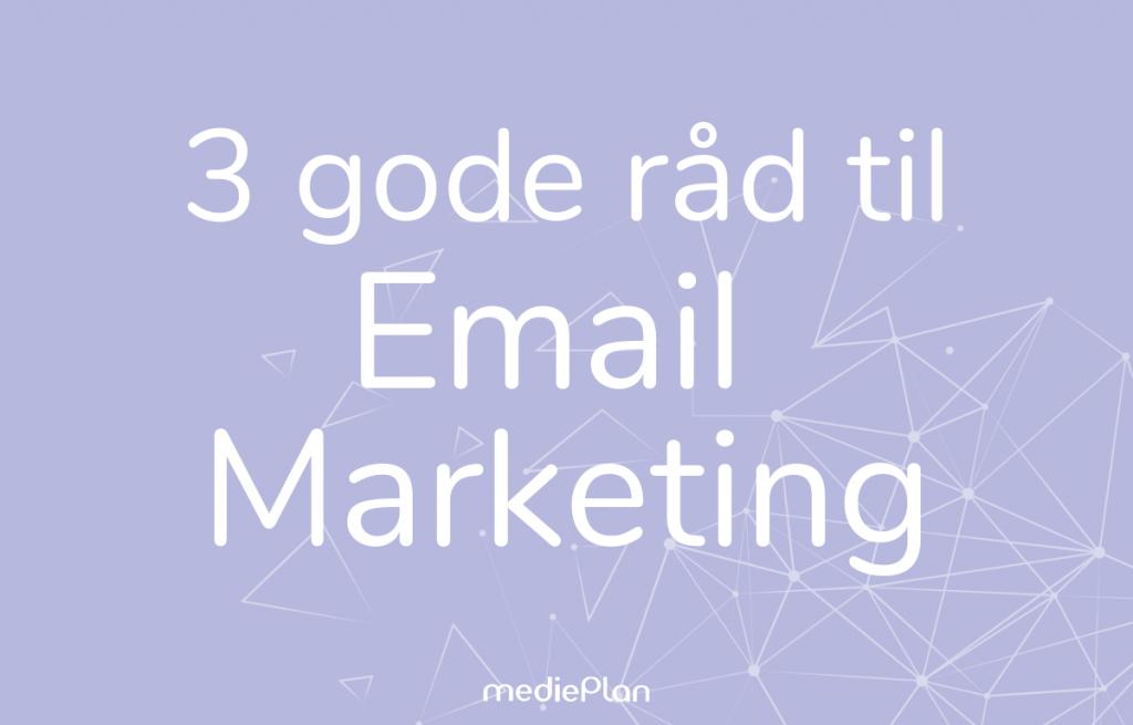 emailmarketing Blog mediePlan