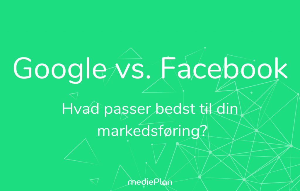 Google vs. Facebook Blog mediePlan