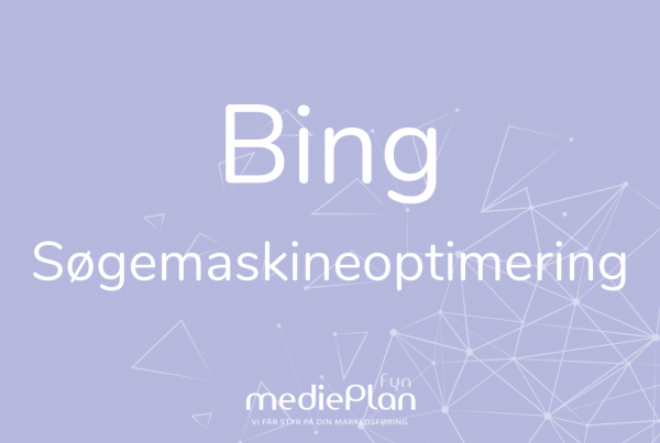 Bing søgemaskineoptimering mediePlan Fyn