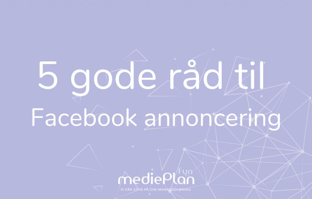 Facebook annoncering _ Blog _ mediePlan