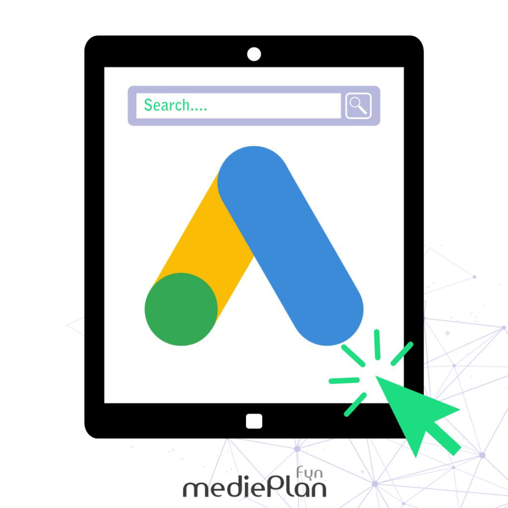 Google Ads giver dig mulighed for at komme til tops på Google. mediePlan-Fyn er certificeret Google Ads bureau